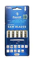Полотна для электролобзика по металлу, 5 шт., Rapide (T123X)