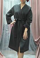 Женский халат - кимоно с начесом.