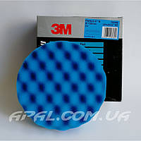 50388 Синий рельефный многоразовый полировальный круг 3M Perfect-It, 150 мм, фото 1