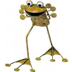 Садовая фигура Frog  Django,Medusa
