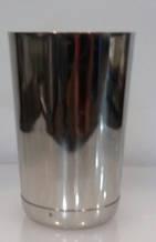 """Шейкер """"Бостон"""" нержавеющий круглый мини с утяжелителем H 115 мм (шт)"""