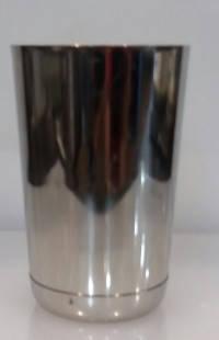 """Шейкер """"Бостон"""" нержавеющий круглый мини с утяжелителем H 115 мм (шт), фото 2"""