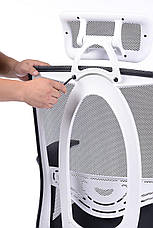 Офисное кресло Barsky White chrom BW-01, фото 2