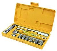 Набор ключей и насадок торцевых 20 шт в кейсе Mastertool 78-0257