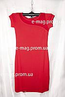 Платье женское красное батальное большой размер М - 3XL, купить оптом 7 км