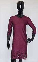 Платье бордового цвета 42 размера