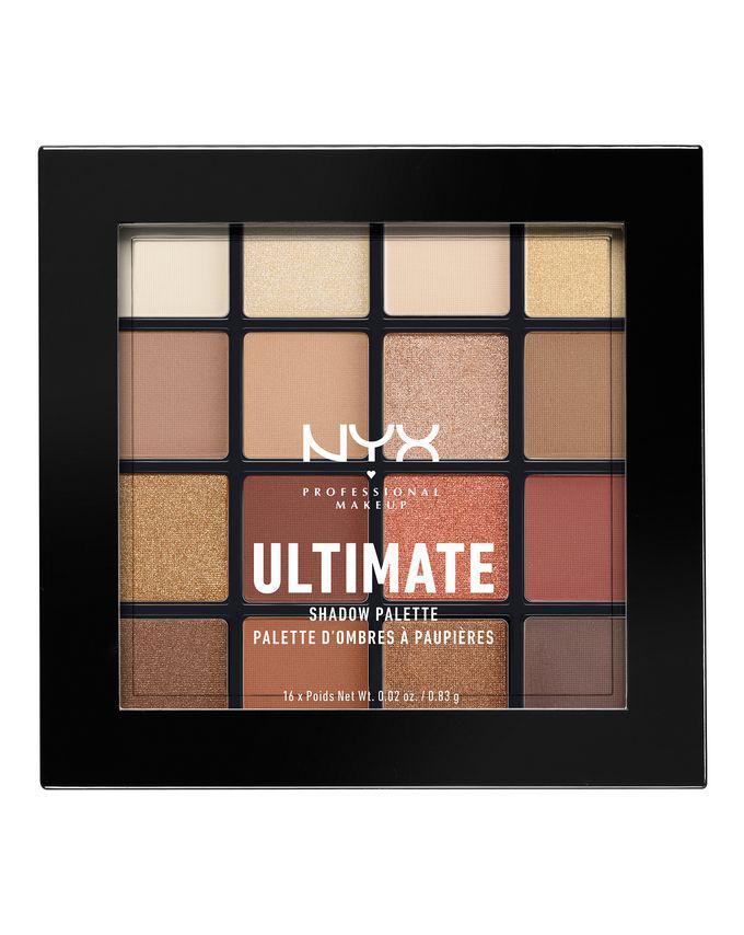 Палитра теней NYX Ultimate Shadow Palette Warm Neutral