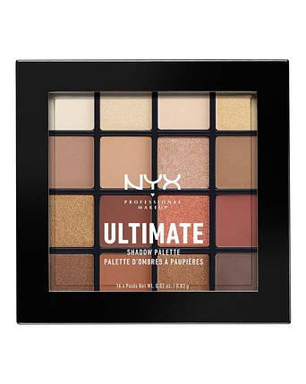 Палитра теней NYX Ultimate Shadow Palette Warm Neutral, фото 2