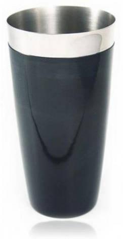 """Шейкер """"Бостон"""" с черным виниловым покрытием H 170 мм (шт), фото 2"""
