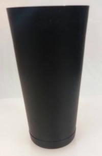 """Шейкер """"Бостон"""" нержавеющий круглый с утяжелителем черного цвета H 175 мм (шт), фото 2"""