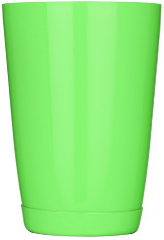 """Шейкер """"Бостон"""" нержавеющий круглый мини салатового цвета V 400 мл (шт)"""