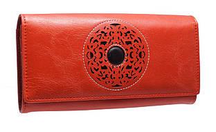 Кошелек женский кожаный Cossni 505919 красный