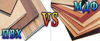 Какие двери лучше: ПВХ или МДФ?
