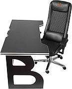 Мебель для работы дома геймерская станция Barsky Homework Game Black/White HG-06/GB-01