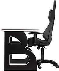Геймерська станція Barsky Homework Game Black/White HG-06/SD-09, фото 3