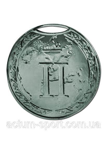 Медаль наградная 50 мм серебро