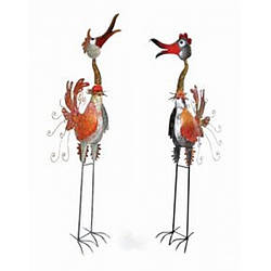 Садова фігура BIRD Mr & Mrs Schmidt,Medusa
