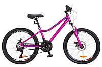 24-034 Optimabikes BLACKWOOD AM 14G DD (12,5) purple-pink