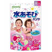 Moony. Трусики для купания для девочек XL (12-17 кг), 3шт (5702)