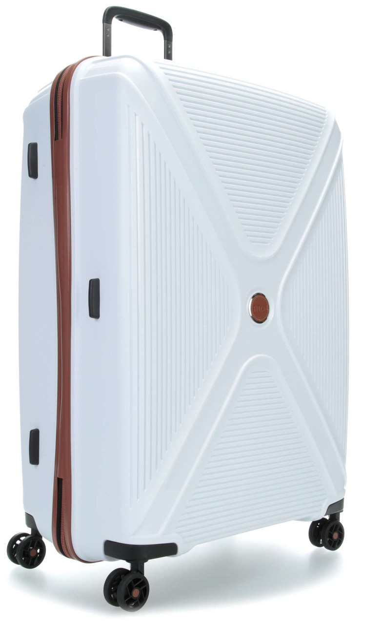 Большой чемодан Titan Paradoxx White, 113 л, Ti833404-80, белый