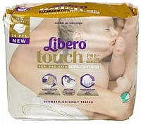 Libero. Одноразовые подгузники Libero Touch 0 , до 2,5 кг., (887440)
