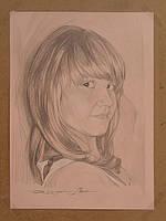 Портреты на заказ карандашом