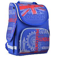 Ранец (рюкзак) - каркасный школьныйдля мальчика - Лондон, PG-11 London, Smart 554525