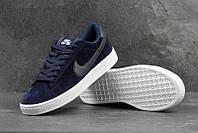37eb692c Мужские кроссовки в стиле Nike SB, темно-синие с белым / кроссовки мужские  Найк
