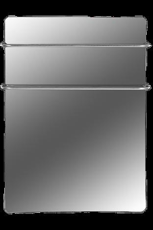 Стеклокерамические полотенцесушители HGlass IGH 6060B,M Basic (черный, зеркальный), (600*600*8)