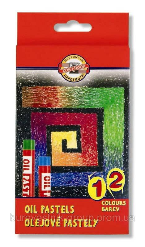Набор художественной масляной пастели KOH-I-NOOR ( 8312 12 ) 12цв.