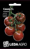 "Семена томата Сашер F1, 5 сем., высокорослого, ТМ ""ЛедаАгро"""