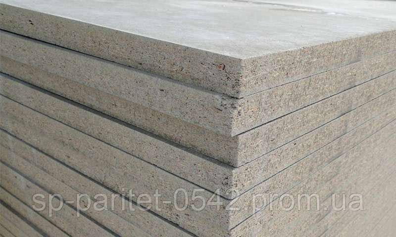 Плита ЦСП (цементно стружечная),10мм (БЗС) 1600 х 1200мм