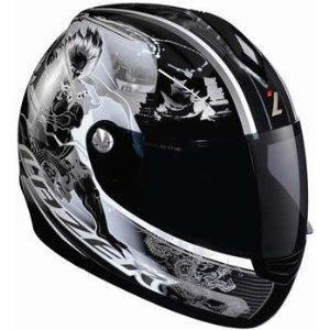 Шлем LAZER VERTIGO RAIJIN BLACK-GREY р.XL