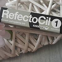 Краска для бровей и ресниц черная №1 RefectoCil № 1