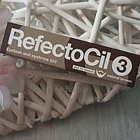 Краска для бровей и ресниц RefectoСil № 3 Натурально-коричневая