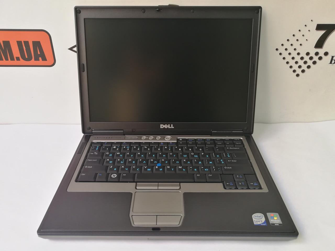 "Ноутбук Dell D630, (1280×800) 14"", Intel Core2Duo T7500 2.2GHz, RAM 3ГБ, HDD 80ГБ"