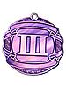 Медаль наградная 70 мм бронза