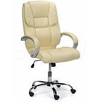 Компьютерное кресло офисное Comfort Черное и Бежевое, фото 1