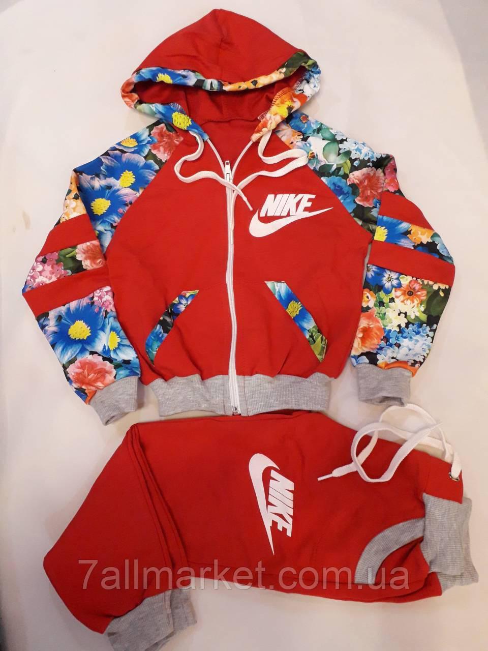Спортивный костюм NIKE с принтом на девочку 672b3e9a7944c