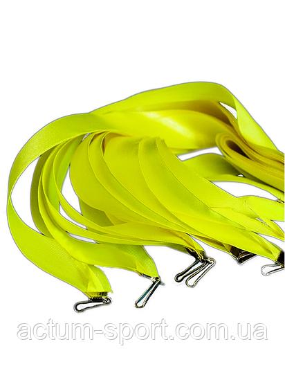 Лента желтая 25 мм.