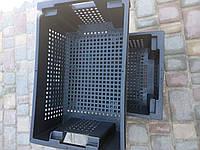 Ящики пластиковые 600 400 200 новые 1.7кг 5мм крепкие