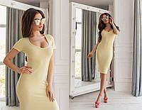 Платье силуэтное в расцветках 33954, фото 1
