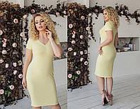 Платье силуэтное в расцветках 33955, фото 1