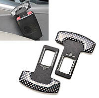 Металлический комплект заглушек для ремней безопасности автомобиля