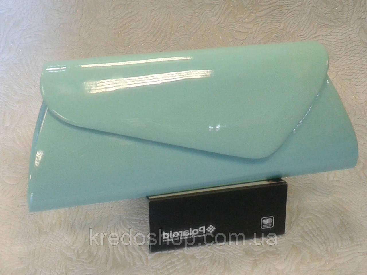 6d603cd8a1c3 Женский клатч вечерний бирюзовый лаковый стильный (Турция) - Интернет-магазин  сумок и аксессуаров