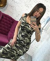 Платье женское камуфляжное, фото 1