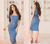 Платье джинсовое в расцветках 33966, фото 1