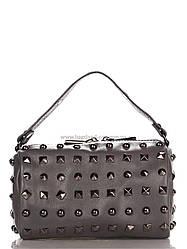 Кожаная женская сумка 11639_dark_gray