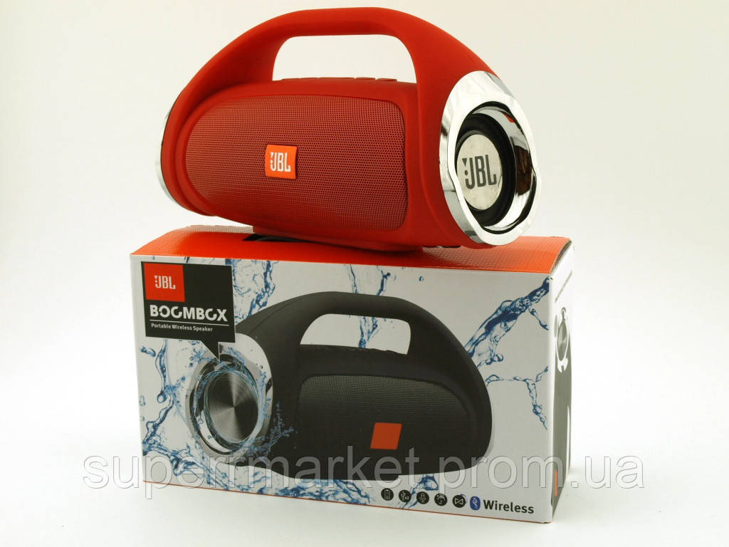 JBL Boombox mini 8W копия, k836 889 портативная колонка с Bluetooth FM MP3, красная