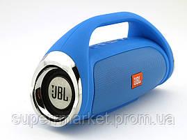 JBL Boombox mini (k836) 8W копия, Bluetooth колонка с FM MP3, синяя, фото 3